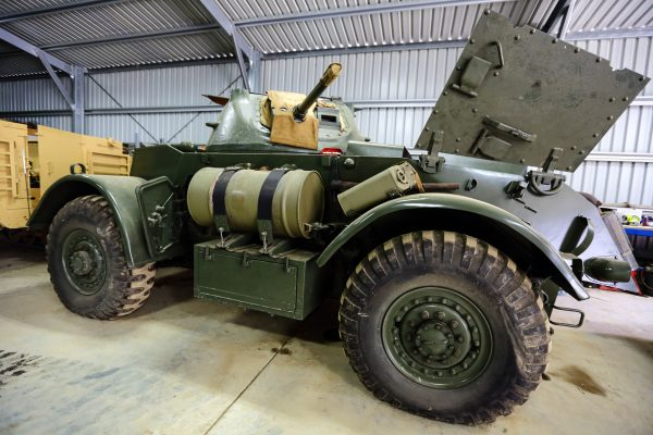 Staghound TE17 Armoured Vehicle